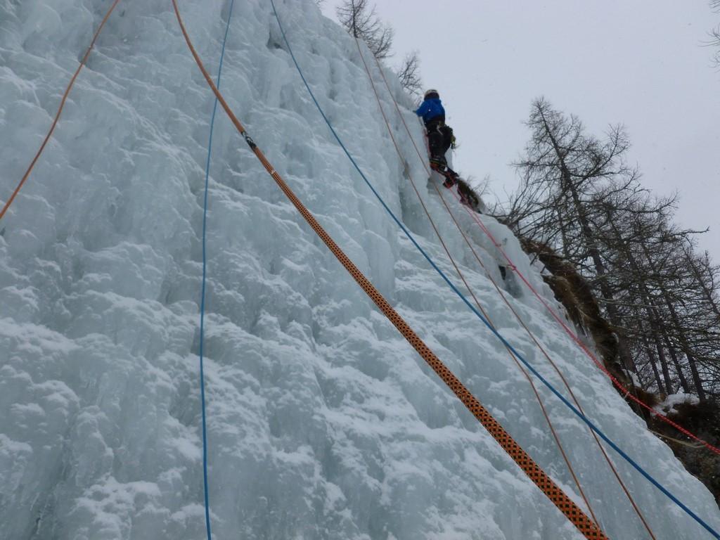 Rencontres d'escalade sur glace de Val Cenis : gros succès